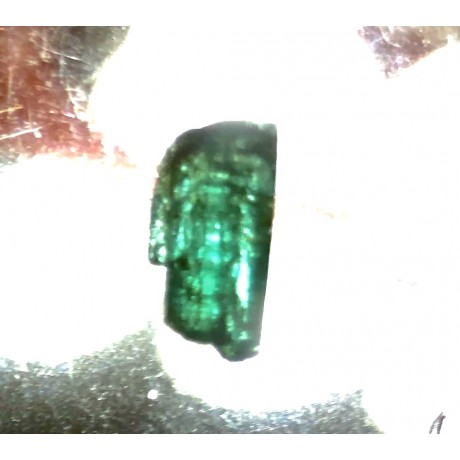 Fine 2.1 carat Emerald Crystal recovered from the 1715 Spanish Plate Fleet