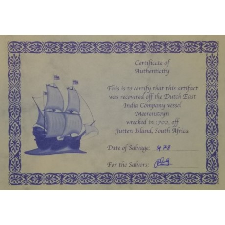 1702 Meerensteyn Shipwreck coin clump Coin # 1702-1505B