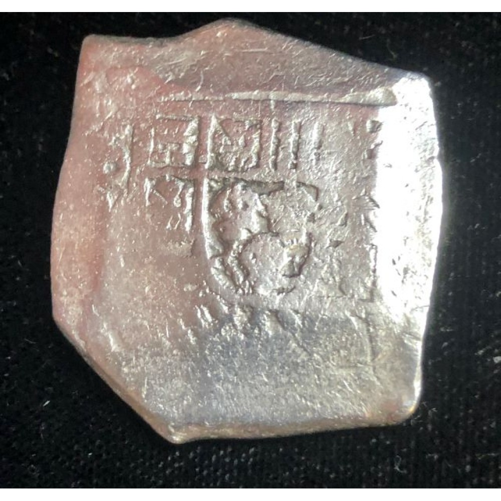 Extremely nice eight reale from the 1715 fleet. Mexico City Mint. 26.25 Grams, Coin # 1715-737