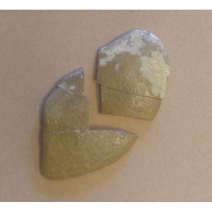 1715 Fleet Spanish Pottery Shard Artifact # 1715-MFE73413