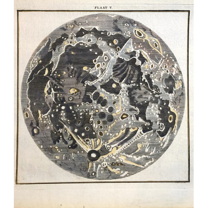 1785 Map of the Moon