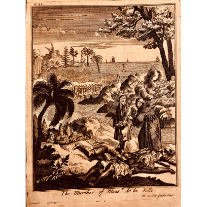 """The Murder of Mons. De La Salle"". Vander Gutch. 1678"