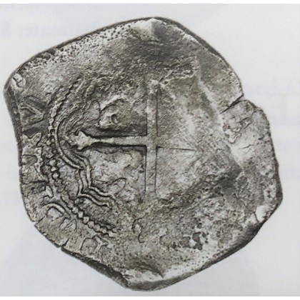 Concepcion Silver Eight Reale dated 1639 #19-1639