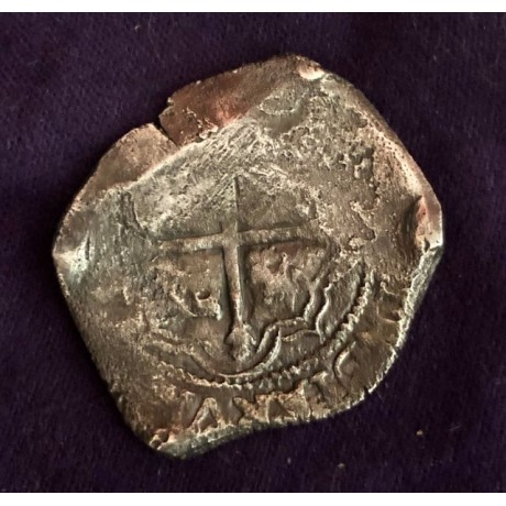 Concepcion Silver Eight Reale dated 1639, Coin # 19-1639