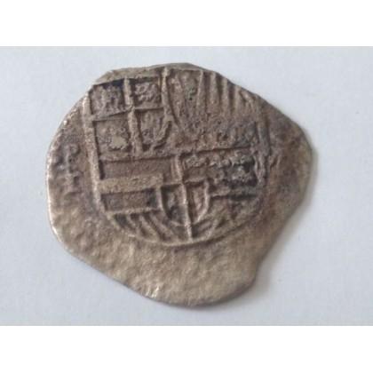 Santa Margarita grade two Eight Reale, P-T. 1618-1621. Coin # 80M-7511