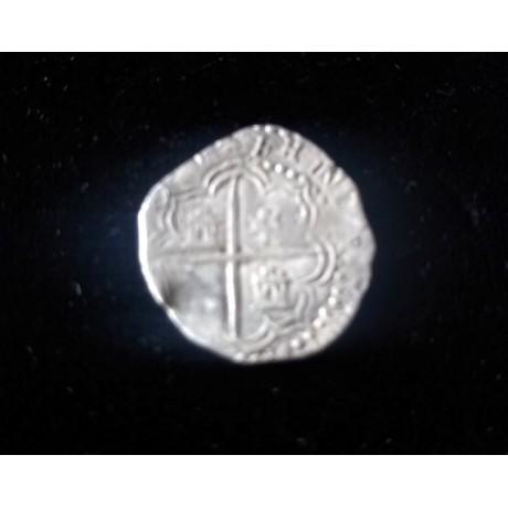 Atocha Silver Two Reale grade 1, COA  # 85A-126608