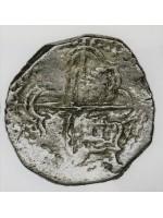 Atocha Silver Two Reale Grade One Coin, Q Assayer