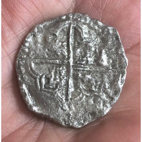 Atocha Silver Eight Reale Grade Three Coin #85A-183763