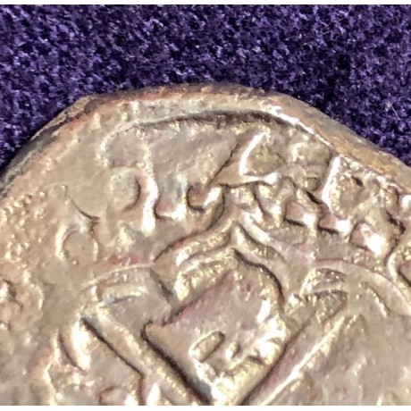 Very Rare Atocha Grade One Two Reale Dated 1621, Coin # 94A-270609