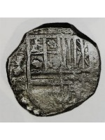 Atocha Silver Four Reale Coin dated 1621