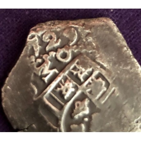 Fantastic Dated 1729 Mexican Four Reale from the Wreck of the Dutch East Indiaman Rooswijk, Coin # AC12231