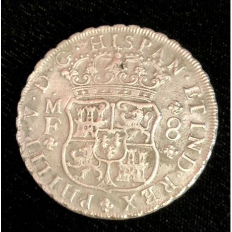 1737 Mexican pillar dollar recover from the 1739 wreck of theRooswijk, Coin # AC12618