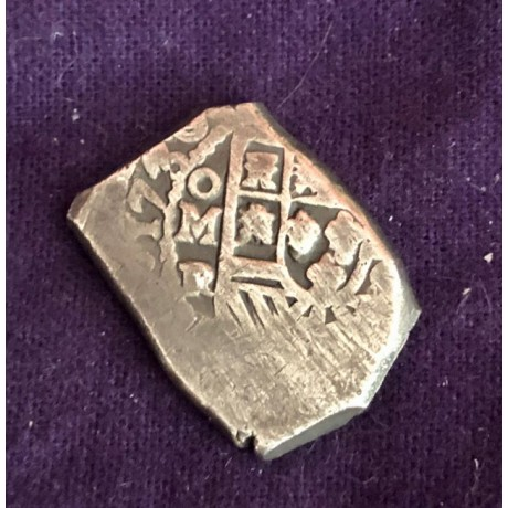 Full Date 1730 Mexican Four Reale from the 1739 Wreck of the Rooswijk, Coin # AC9607