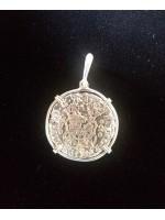 Rare Mexico 2 reale, dated 1740 from the 1784 El Cazador shipwreck, Coin #Cazador1740