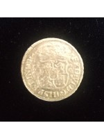 Rare Mexico 2 reale, dated 1755 from the 1784 El Cazador shipwreck, # Cazador1755