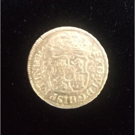 Rare Mexico 2 reale, dated 1755 from the 1784 El Cazador shipwreck, # Cazador1755
