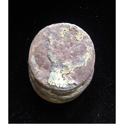 1784 wreck of El Cazador 3 coin clump Coin # Cazador-3-coin-clump
