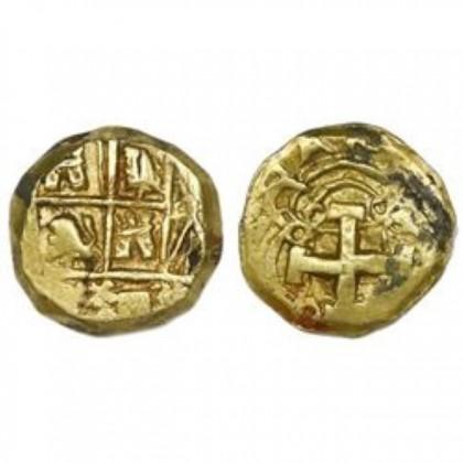 Bogota, Colombia, cob 2 escudos, 1730's, Coin#GC1730