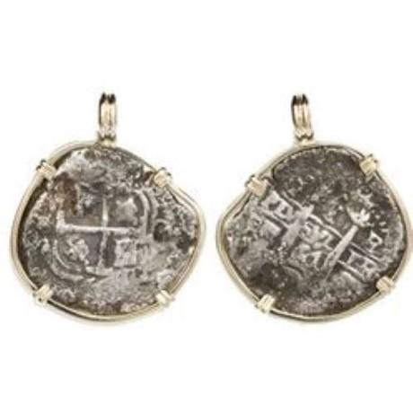 Consolacion (1681) Potosi, Bolivia, cob 1 real, Coin#SC1378