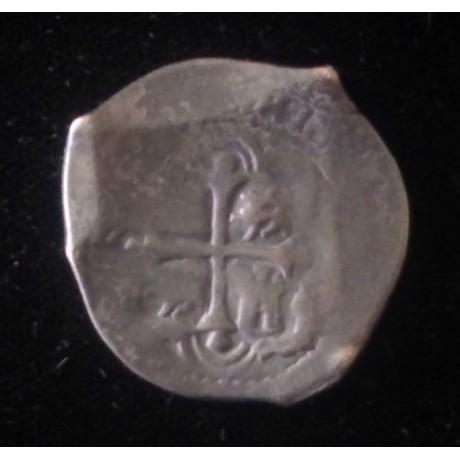 Dated 1658 Mexico, cob 4 reale Silver Coin. Rare., Coin # SC27-1587