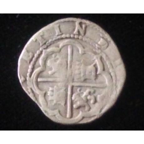 Lima Diego De La Torre One Reale. 1577-1586, RARE.  Silver Coin # SC27-1594