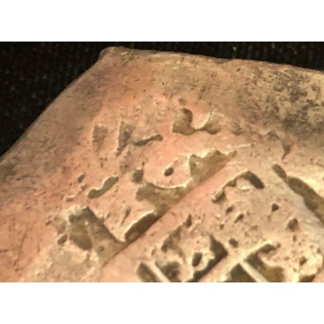 EXTREMELY RARE Rooswijk Shipwreck of 1739, dated 1725 Mexico City, Mexico, cob 8 reales , Coin # SC27-361