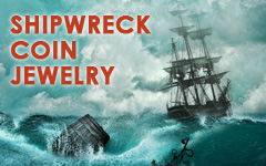 Shipwreck Coin Jewelry